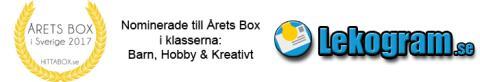 Nominerade till Årets Box 2017 - Lekogram.se