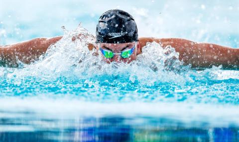 Helsingborgssimmaren Kristian Kron vidare på 200 rygg i Universiaden