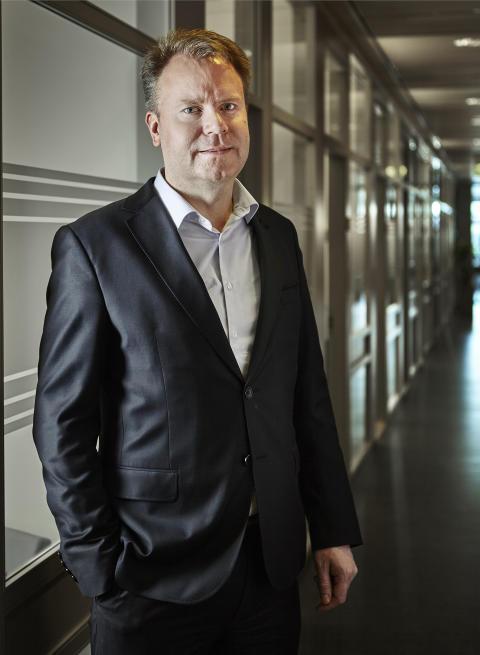 Johan Lindström, vd Plåt & Ventföretagen.