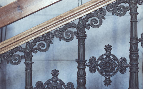 Detalj slottstrapp