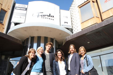 Tyréns utvecklar Farsta centrum