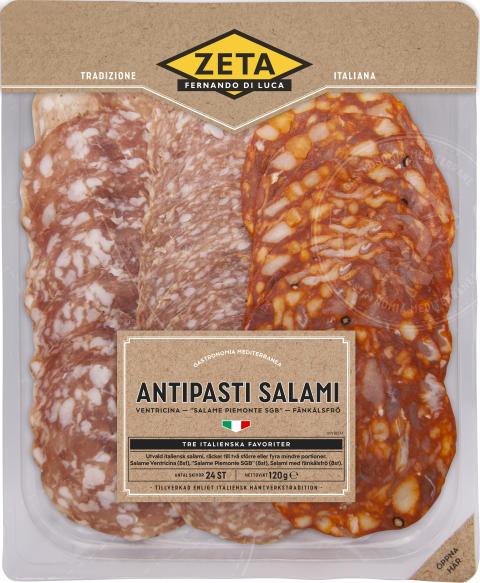 Produktbild Zeta Antipasti Salami