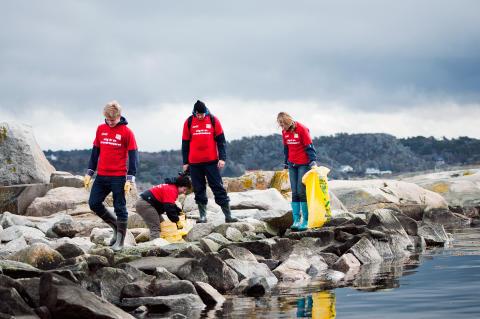Fyra tusen ungdomar bidrog till renare stränder