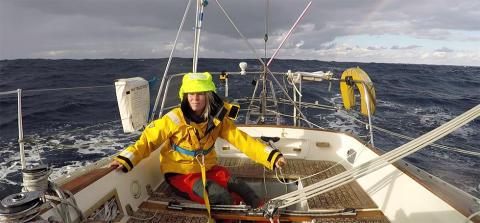 DHL hjälper den banbrytande seglaren Susie Goodall att erövra nya gränser