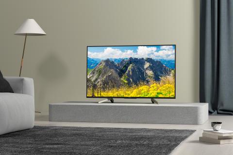 XF75 series 4K HDR TV