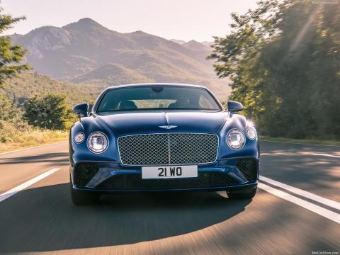 Bentley benytter også DSG-gearkasse i deres Continental GT