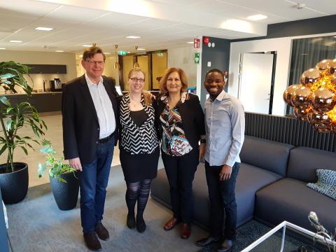Årets Entrepreneur of the Year - Moa Gürbüzer - blir delägare i kaffemärke som driver mödravård i Kongo