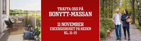 Bonytt-mässan 11 nov kl 11-15 i Exercishuset på Heden