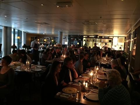 Overskuddsfest på Clarion Hotel Stavanger.