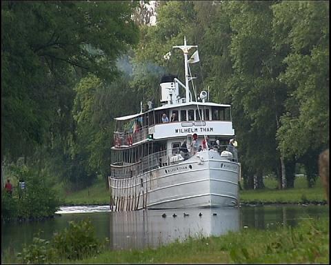 Nya teman lockar nya gäster till Göta Kanal!