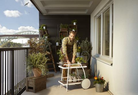 Inglasade balkonger populärast i Finland
