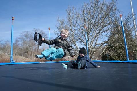 Høysesong for trampolineskader