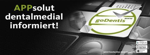 goDentis mit Newsroom und App im Netz