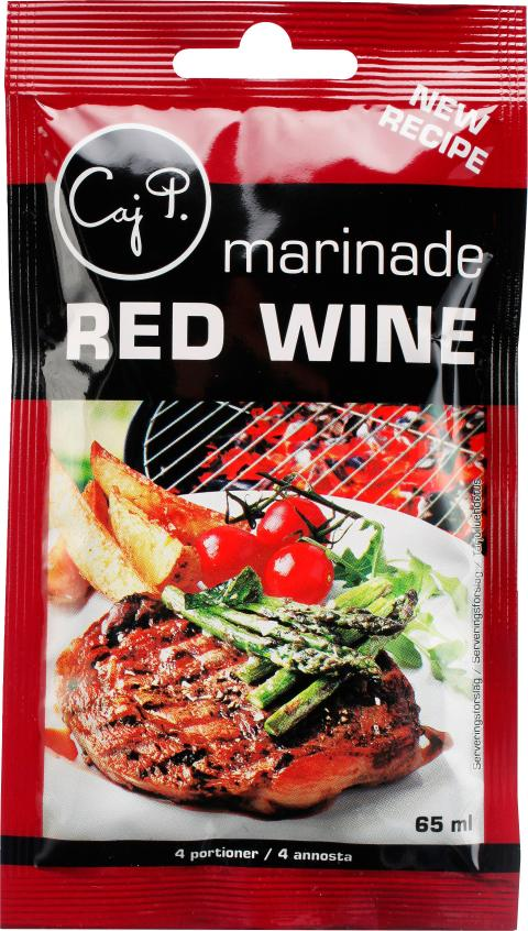 Caj P Marinade Red Wine
