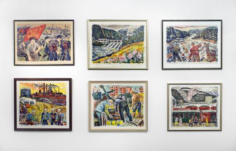 Strejkande gruvarbetares konstsamling. Västerländsk konst och brittisk olja i Iran. Pressvisning onsdag 13 mars 11:00