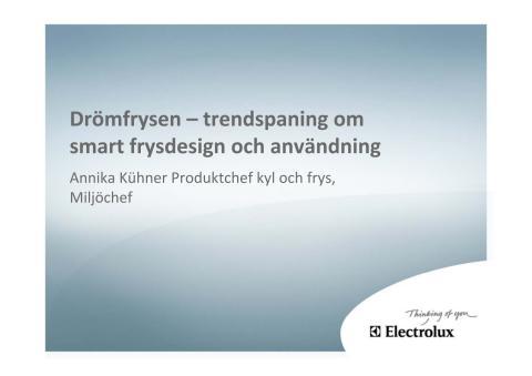 Presentation - Annika Kühner - Findus matseminarium 14 juni