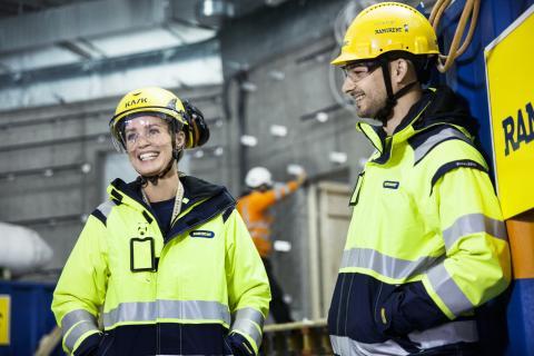 Ramirent leverantör vid Värmlands första 50-meters bassäng