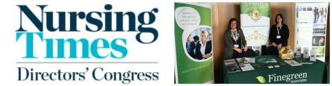 Finegreen at the Nursing Times Directors' Congress