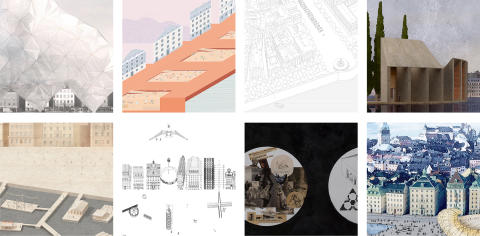 Eight Leading Architects Draw a Future Stockholm in 'Architecture Projects: Skeppsbron'
