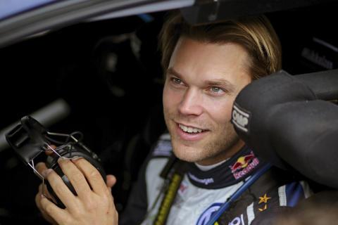 Andreas Mikkelsen Rally Australia porträtt