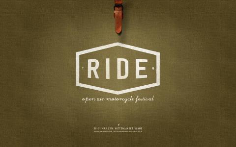Ride - Motorcykelfestival 30-31 maj