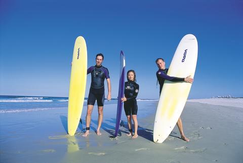 Surfing i Australien