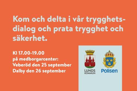 Trygghetsdialoger i Dalby och Veberöd ger chans att påverka