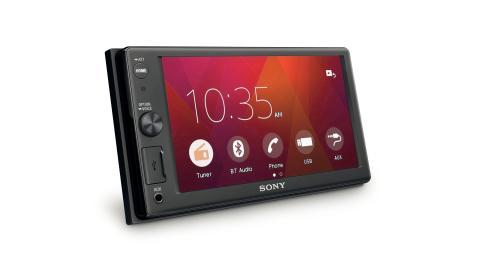 Автомобильный AV-ресивер от Sony с увеличенным экраном