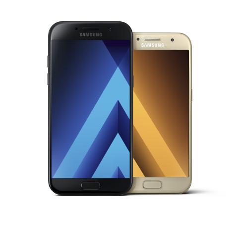 Samsungs nye Galaxy A-serie – mobiler, der kombinerer teknologi og design i topklasse