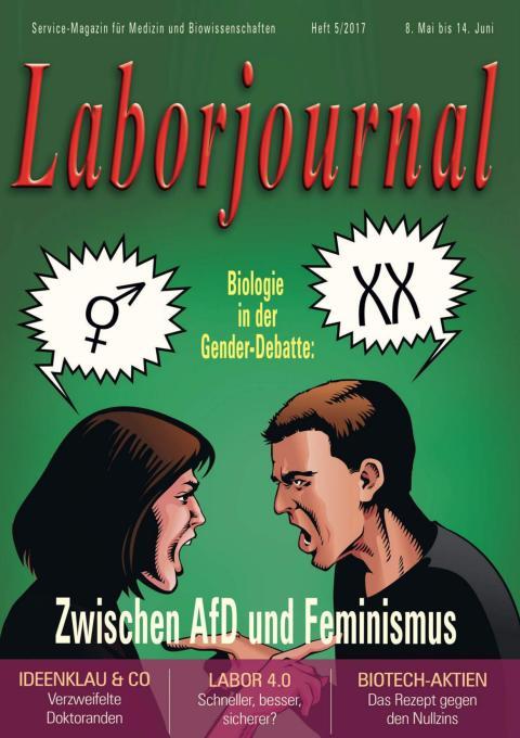 Interview mit Dr. Martina Schmitz im Laborjournal