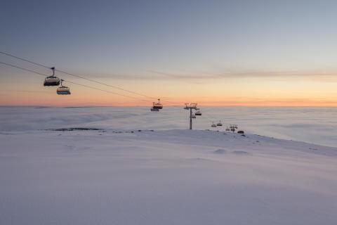 Skihytta Ekspress i Trysil