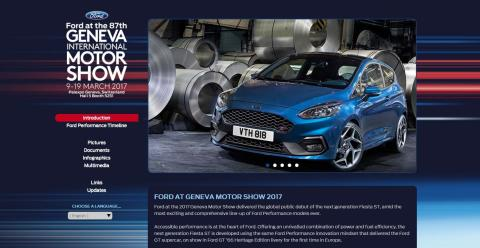 Ford ved Geneva International Motor Show 2017 - online press kit