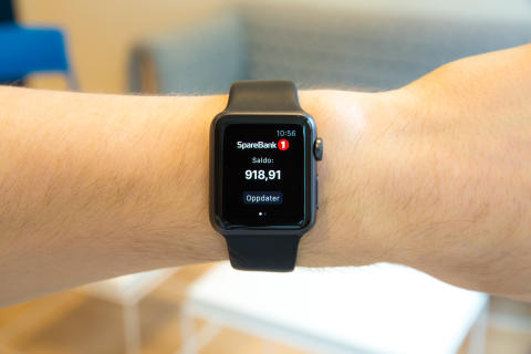 Klokkebank, Applewatch