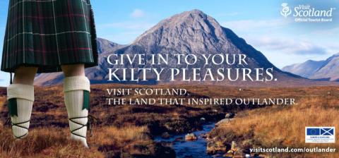 Scotland feels 'Outlander effect'