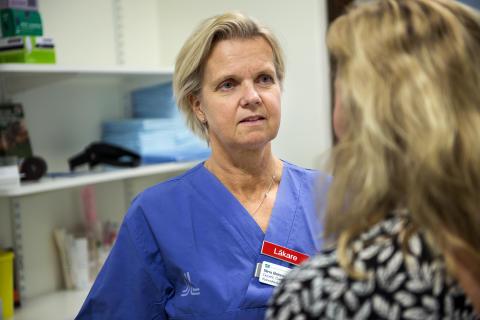Gynekolog Nina Bohm Starke på Kvinnokliniken Danderyds sjukhus