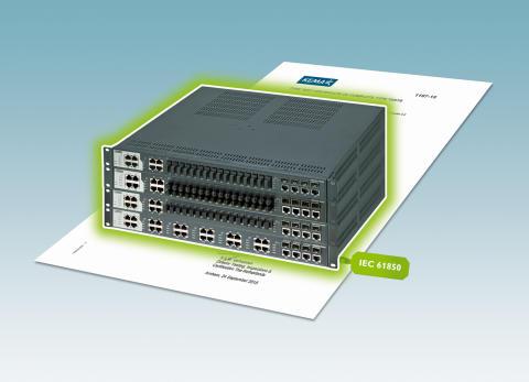 Switche er KEMA-certificerede til IEC 61850