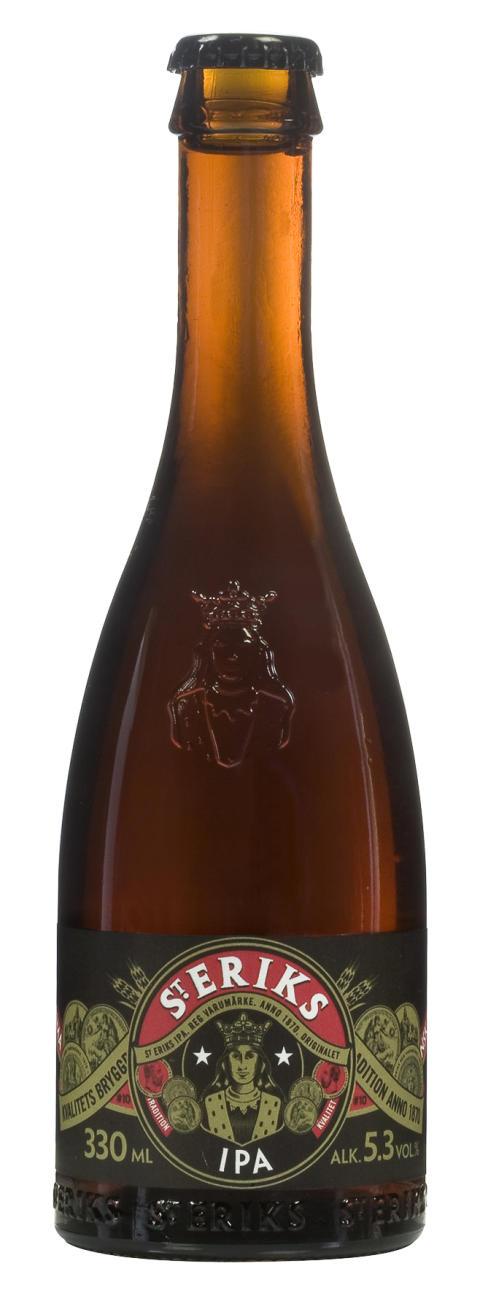 S:t Eriks IPA, en av världens bästa India Pale Ales.