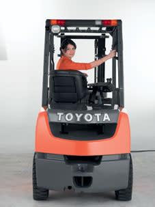 Provkör Toyotas truckar i Halmstad 24 september