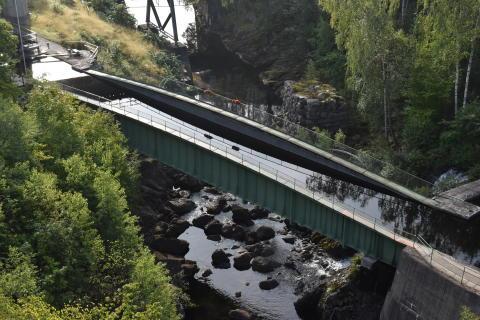 Akvedukten i Håverud revideras inför jubileumsfirande 2018