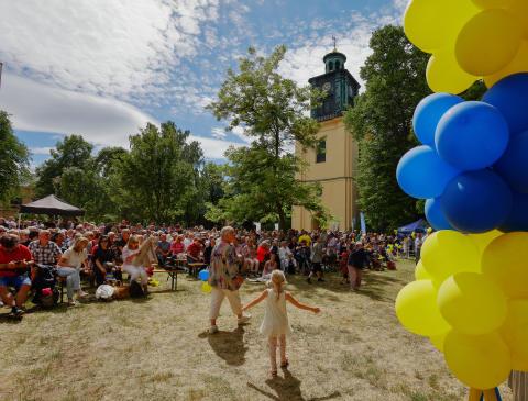 Plastfritt nationaldagsfirande i Norrköping