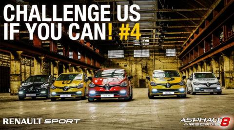 Renaults CLIO R.S. 200 EDC blir stjärnan i första uppdateringen av dataspelet  Asphalt8: Airborne