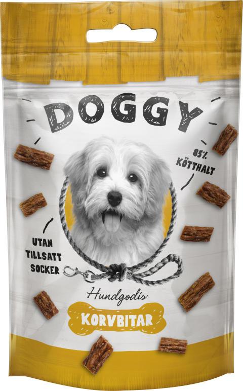 Doggy Hundgodis Korvbitar