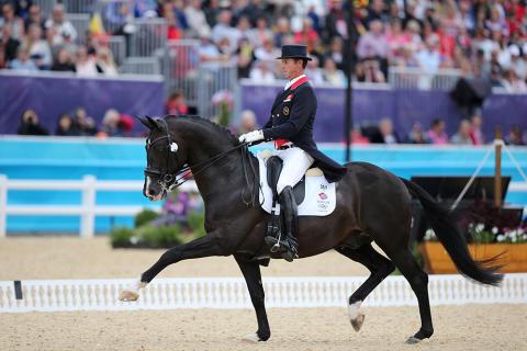 Charlotte Dujardins häst kan inte tävla