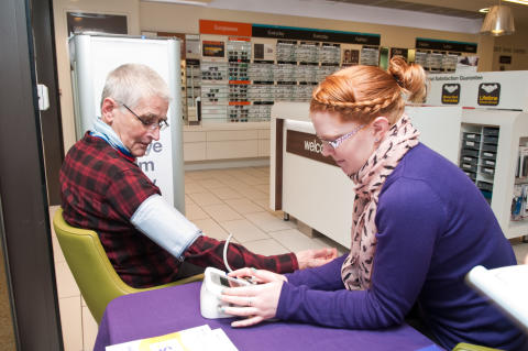 Eleven GP referrals as Eastbourne shoppers join free blood pressure event