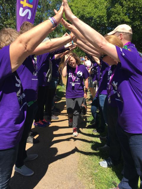 Survivors take a Step Out for Stroke in Oxford