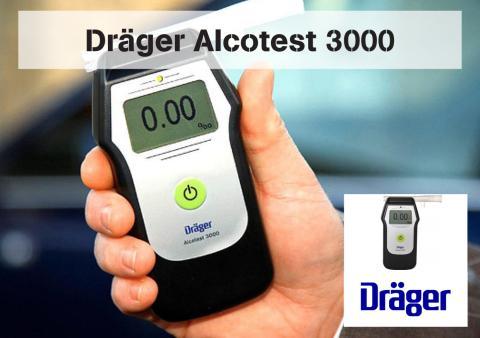 Drägers populära alkoholmätare Alcotest 3000