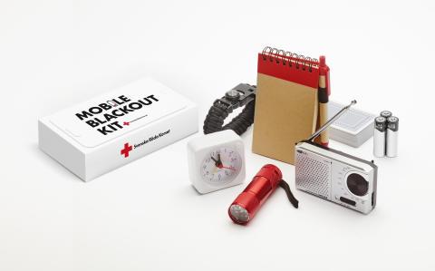 Mobile Blackout Kit – Röda Korset lanserar kampanj om krisberedskap