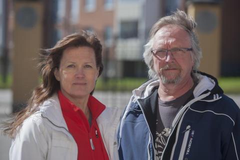 Tarja Susi och Niclas Torstensson