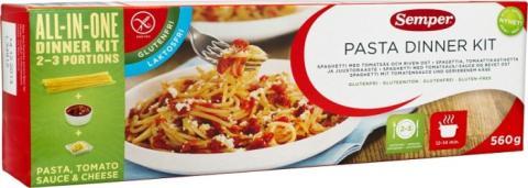 Pasta dinner kit
