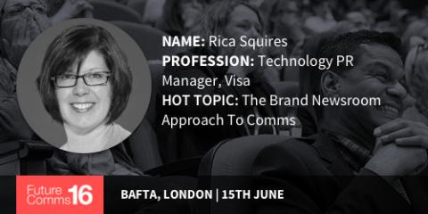 """Comms is changing...but don't believe the hype"" - Rica Squires 